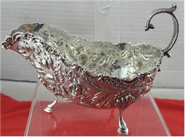 Kirk REPOUSSE FOOTED SAUCE BOAT