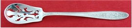 WEDGWOOD PIERCED OLIVE SPOON
