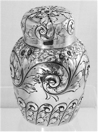 SUGAR SHAKER, C.1892. No Monogram