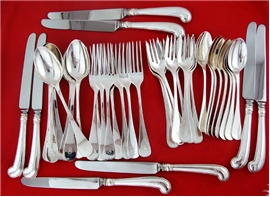 KING WILLIAM FLATWARE SET