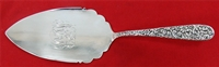 REPOUSSE by Jenkins & Jenkins All Sterling Silver PIE SERVER with RAISED SIDES