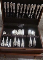 King Richard by TOWLE Flatware set service for 12, 62 Pieces,