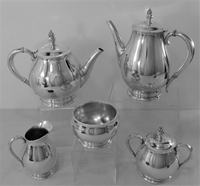 Royal Danish by Internaional Sterling Silver 5-PC TEA & COFFEE SET