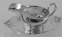 Royal Danish Gravy Boat with matching underplate