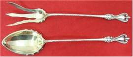 OLD COLONIAL LETTUCE FORK AND SPOON SET