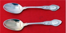 DEMITASSE SPOON GOLD WASHED
