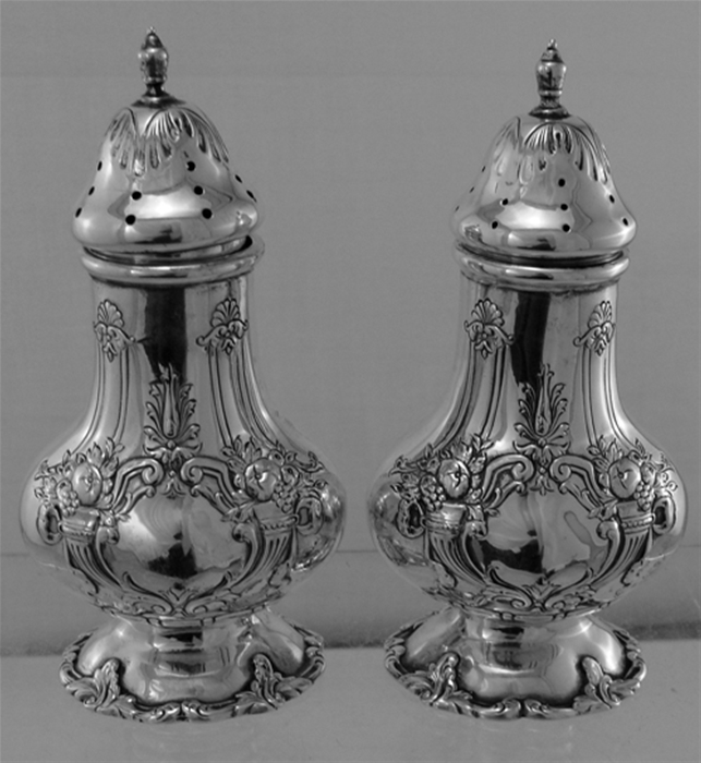 FRANCIS I SALT AND PEPPER SHAKERS